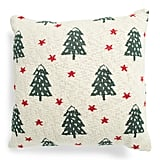 Knitted Tree Star Pillow
