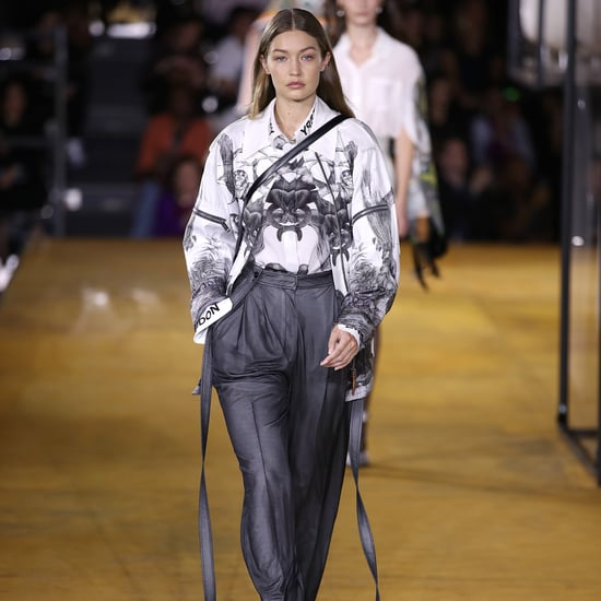 Gigi Hadid at Fashion Week Spring 2020