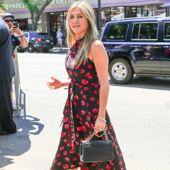Jennifer Aniston Proenza Schouler Printed Dress