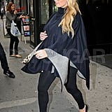 Jessica Simpson got ready for retail therapy at Bergdorf Goodman.