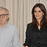 Greta Gerwig, Woody Allen, and Penélope Cruz attended a press event in NYC.