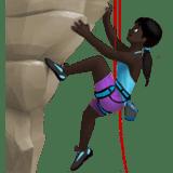 Woman Climbing