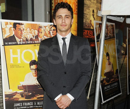 Slide Picture of James Franco at the NYC Premiere of Howl