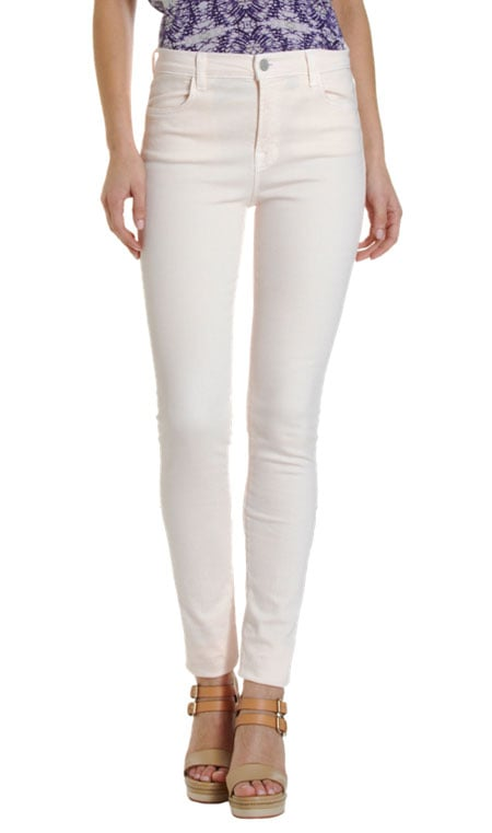 "Christopher Kane x J Brand High Rise Skinny Jean ($285) Denim expert soundoff: ""All body types can wear high-waisted jeans. With great stretch denim that give and move in the right places, high-waist styles elongate your legs."" — Mary Pierson, J Brand vice president of denim design"