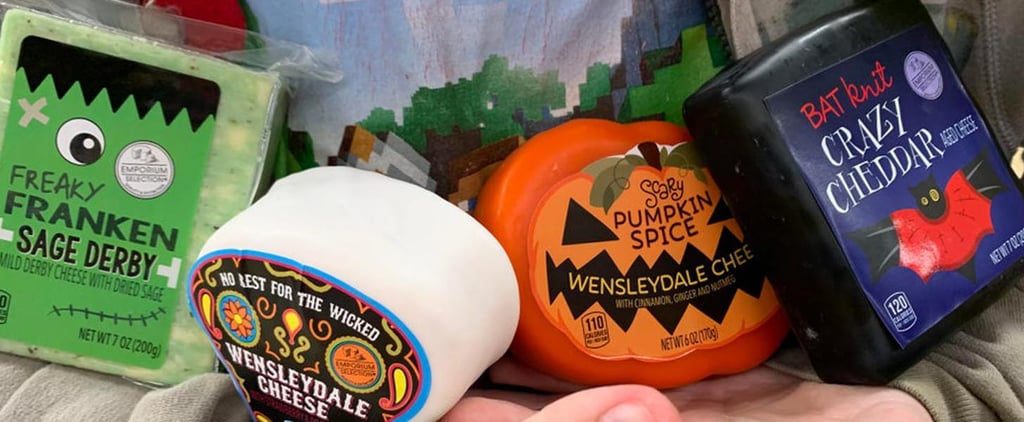 Aldi Has Halloween-Themed Cheeses in Festive Shapes!