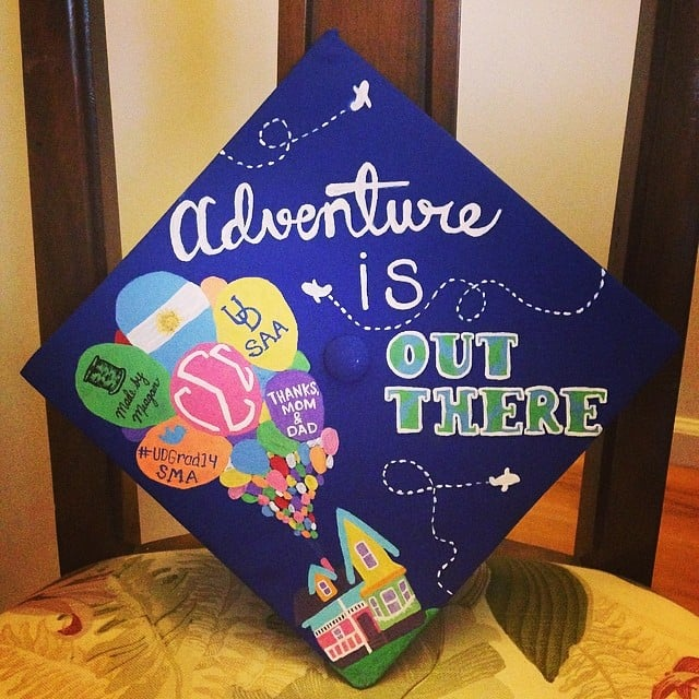 graduation cap ideas popsugar smart living - Graduation Caps Decorated