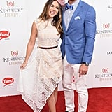 Justin Hartley and his wife, Chrishell Stause, were as cute as can be in 2017.
