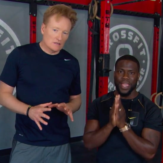 Kevin Hart Workout With Conan O'Brien