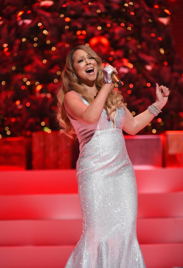 "POPSUGAR: How did you pick this particular name for the lipstick? You have so many songs to choose from. Mariah Carey: Well, I wanted something different for the holidays. It's not a red lip; it's actually a champagne shimmer with a frost texture. I wanted to go away from the typical red lip that everybody usually does for Christmas. It's really beautiful. ""All I Want"" is such an evergreen song for me, and it's a natural name for the lipstick. PS: It's such a major song — I know people who listen to it in July! Did you have any idea that it was going to be such a huge hit? MC: No, I really didn't! I was writing it in this little, tiny room with a little keyboard by myself years ago, and then I just sang it. It was a process, but I was sitting in the middle of Summer with Christmas trees in the room having fun. I never knew it would be one of my most famous songs. Here we are, all this time later. Every year I hear it, and it actually makes me really happy. It makes me happier to hear than any of my other songs because I love Christmas so much."