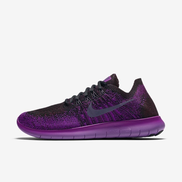 free shipping e1263 7d771 Nike Free RN Flyknit 2017 Running Shoes | Purple Sneakers ...