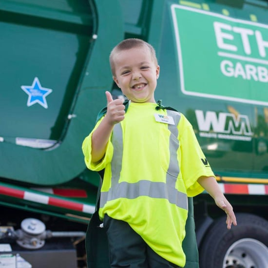 Little Boy's Dream of Becoming a Garbage Man | Video