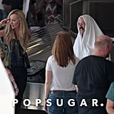 Portia de Rossi and David Cross shared a scene.