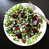 Instant Pot Beet Salad With Arugula, Goat Cheese, and Walnuts
