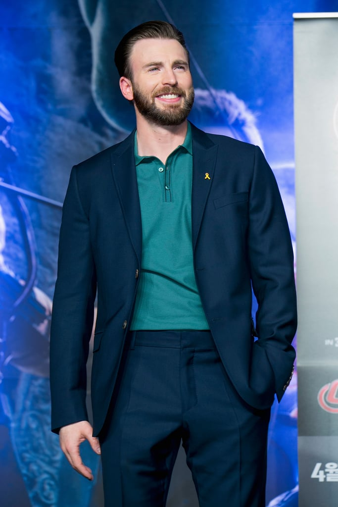 Behold: Chris Evans and His Perfect Beard