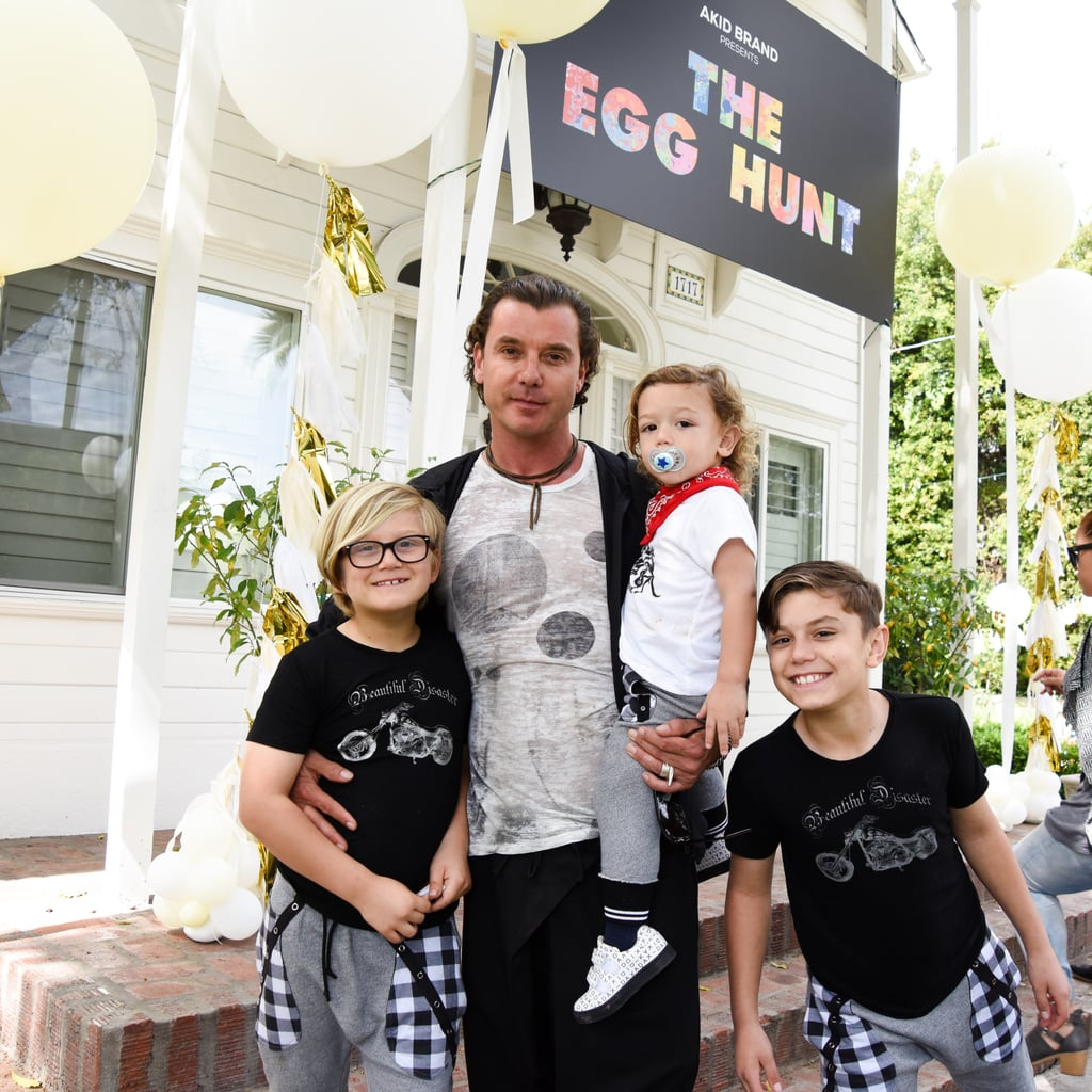 Gavin Rossdale Takes Kids On An Easter Egg Hunt While Still Wearing His Wedding  Ring