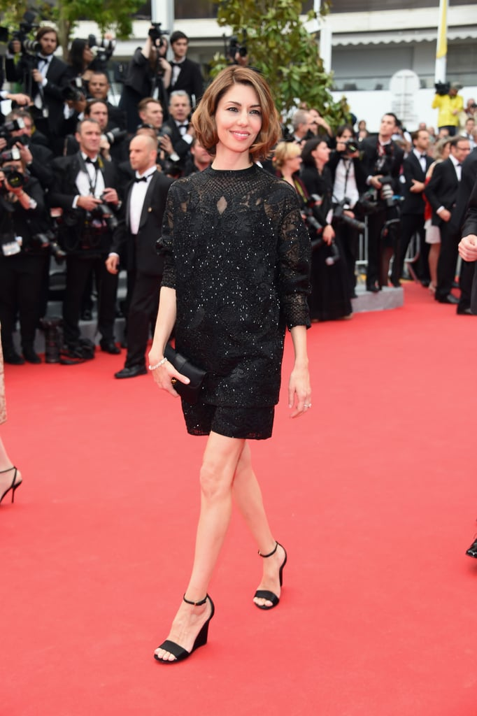 Sofia Coppola at the Grace of Monaco Premiere