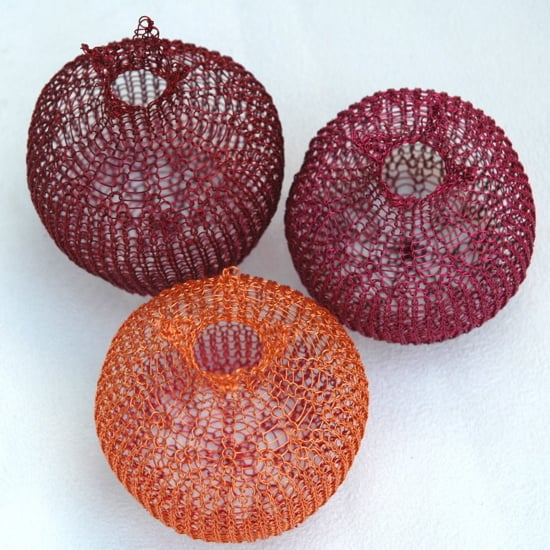 Etsy Find: Crocheted Metal Pomegranate