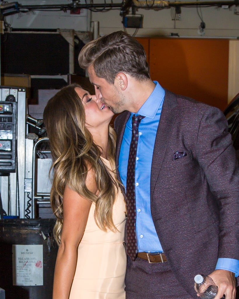 It's been less than a month since The Bachelorette's JoJo Fletcher and Jordan Rodgers went public with their newfound romance, but the duo has already given us plenty of sweet moments to swoon over. From their PDA-filled appearance on Good Morning America to their first holiday as a couple, it's clear that these two are head over heels for each other. Take a look at their cutest pictures so far, then see why JoJo might just be the hottest bachelorette to date.