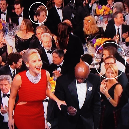Rachel McAdams and Ryan Gosling at the Golden Globes 2016