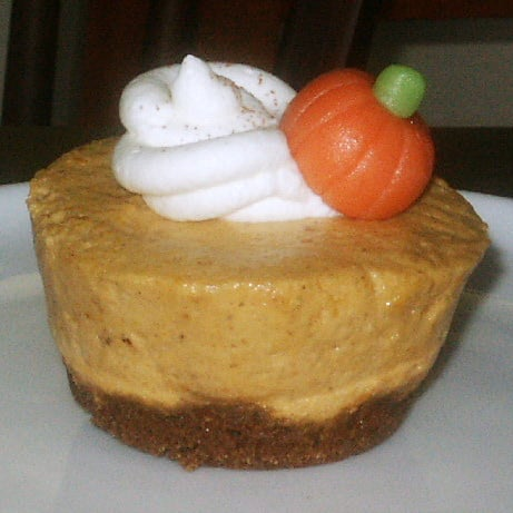 Cupcake of the Week: Pumpkin Chiffon Mousse With Gingersnaps