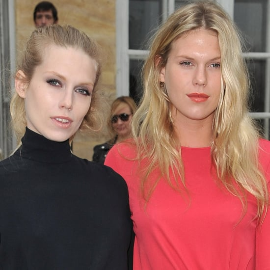 Alexandra and Theodora Richards at Christian Dior