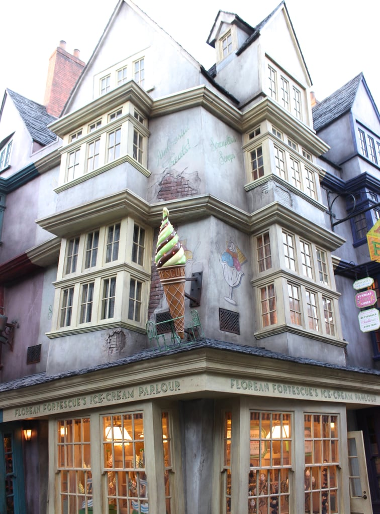 You can order Harry's favorite ice cream from Florean Fortescue's.