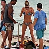 Doutzen Kroes and Sunnery James were in Miami, Florida.