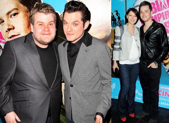 Photos Of Mathew Horne, James Corden, Pregnant Emma Willis and Matt Willis At Lesbian Vampire Killers Screening