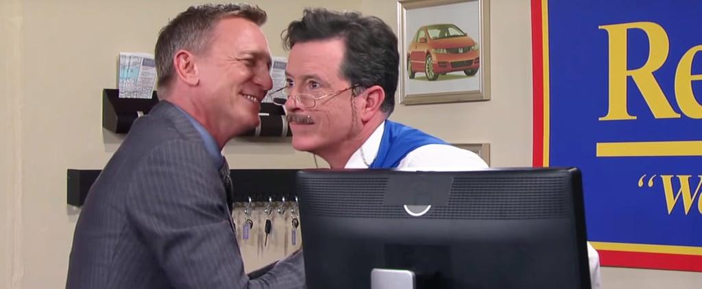 Daniel Craig and Stephen Colbert's Car Rental Sketch