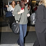 Ashley Greene was happy to be home in LA.