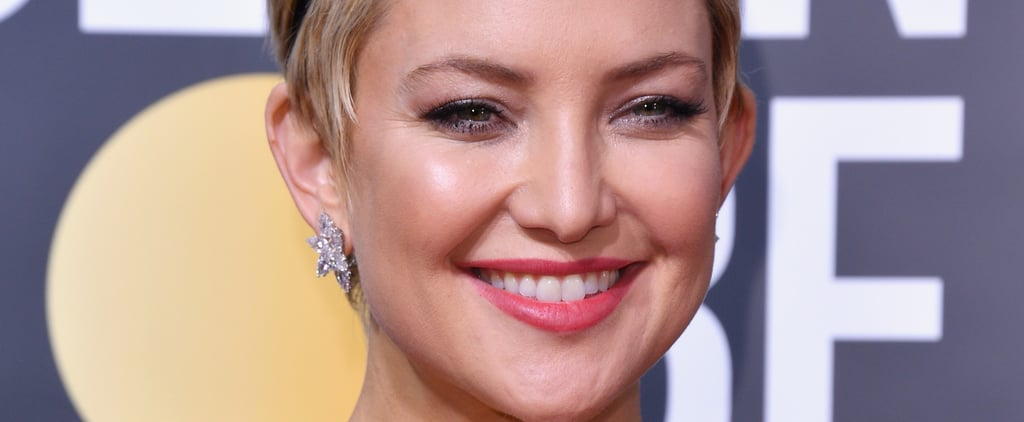 A Lesson in Styling a Pixie Cut, Straight From Kate Hudson at the Golden Globes