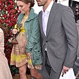 Benjamin Millepied supported Natalie Portman at the 2011 Independent Spirit Awards.