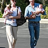 Photos of Rebecca Romijn and Jerry O'Connell