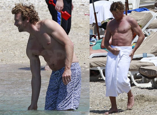 Pictures of Simon Baker Shirtless in the South of France