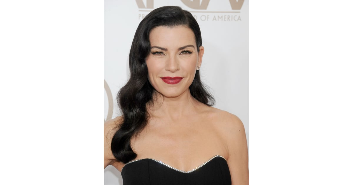 Julianna Margulies Celebrity Hair And Beauty Looks From 2013