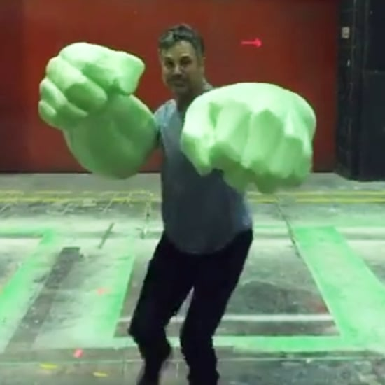 Mark Ruffalo's Hulk Video From the Thor 3 Set