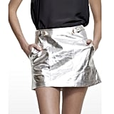 Yes, this silver skirt is a little Alfoil-y, but in a good way. Imagine it paired with a simple white shell and flat sandals. Cool AND comfy. — Ali, FabSugar editor Skirt, $330, Shakuchi