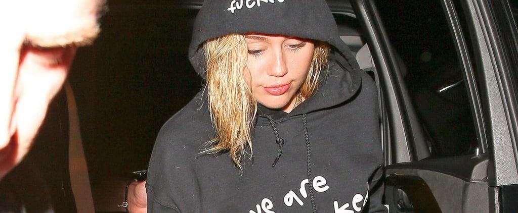 Miley Cyrus We Are Fucked Sweatshirt