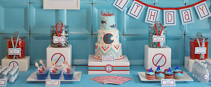 Shark-Themed Birthday Party