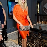 Gwyneth Paltrow wears Lanvin in London.