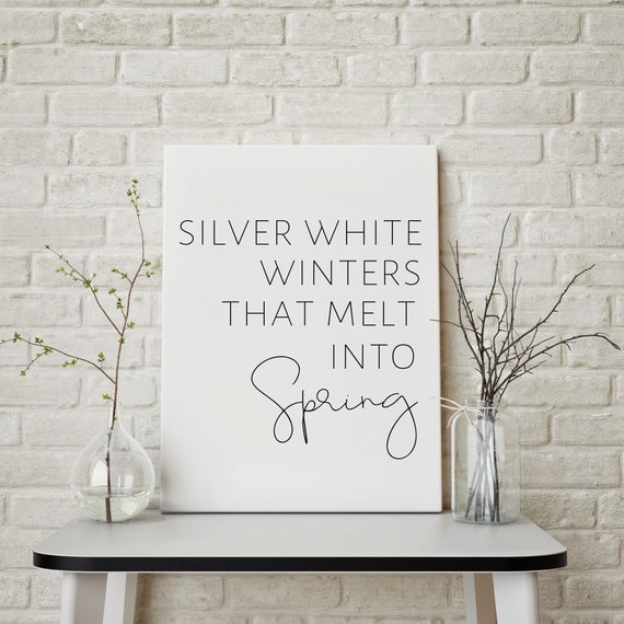 Silver White Winters Download
