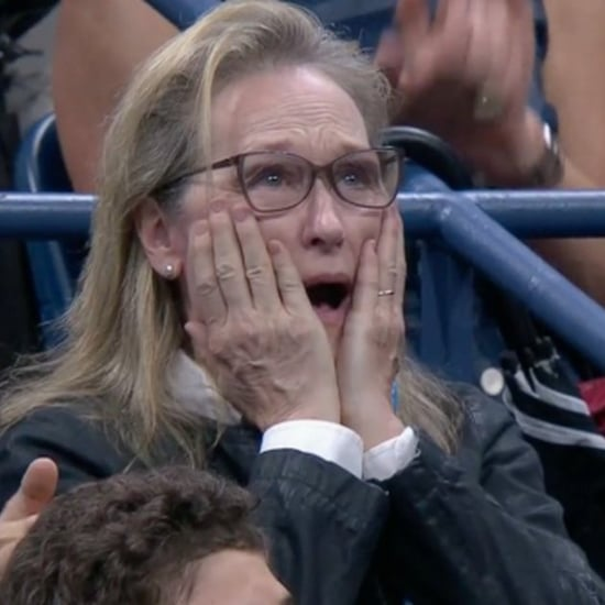 Meryl Streep's Reactions at the US Open 2018