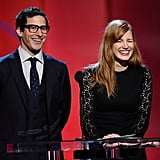Andy Samberg and Jessica Chastain
