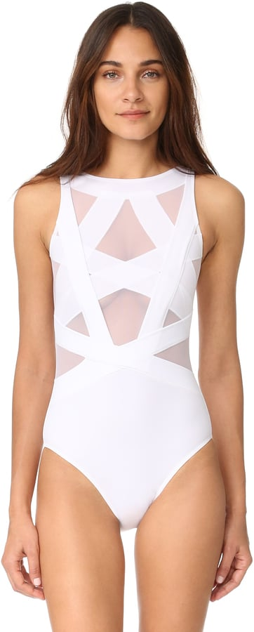 50f7fa3c1a OYE Swimwear Esther One-Piece | Sexy One-Piece Swimsuits | POPSUGAR ...