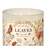 Bath and Body Works Leaves 3-Wick Candle