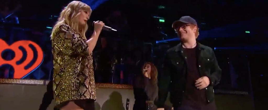 Taylor Swift and Ed Sheeran Are Too Adorable as They Reunite on Stage For the Jingle Ball