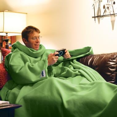 The Slanket: Totally Geeky or Geek Chic?