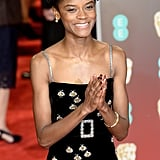 Pictured: Letitia Wright