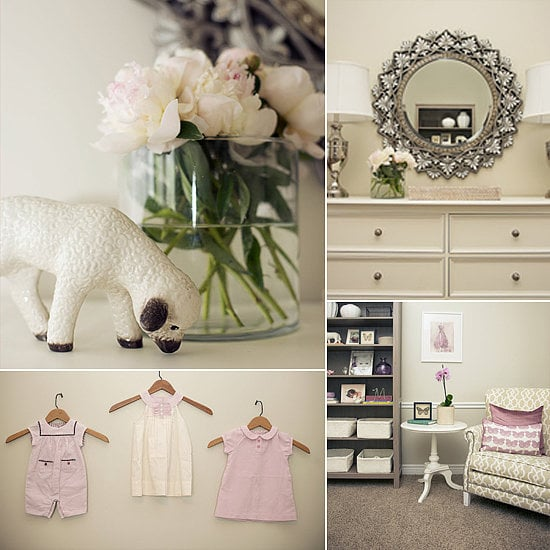 A Soothing Lavender and Cream Nursery