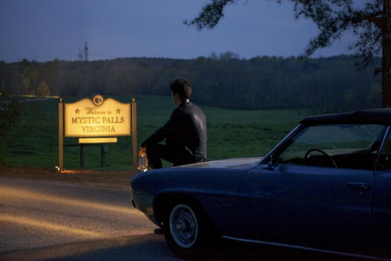 This is never a good scene. Is Damon skipping town?